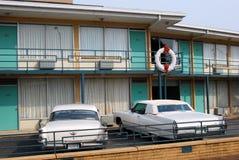 De Plaats van de Moord van Martin Luther King, Memphis Stock Foto
