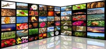 De ruimte van media Stock Afbeeldingen