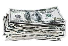 De stapel van het geld Stock Afbeelding