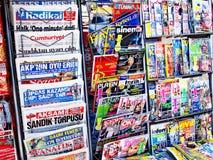 De tribune van de krant Royalty-vrije Stock Foto's