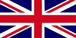 De vlag van Groot-Brittannië Royalty-vrije Stock Foto's