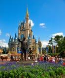 De Wereld van Walt Disney van het Kasteel van Disney Royalty-vrije Stock Foto's
