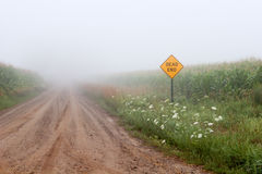 Dead End Road Stock Image