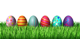 Decorated Eggs Stock Photos
