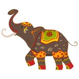 Decorated Elephant Stock Photos