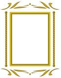 Decoratief frame. JPG en EPS Royalty-vrije Stock Afbeelding