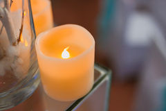 Decorative candles Royalty Free Stock Image