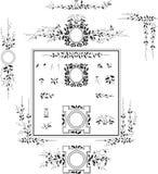 Decorative Elements - Retro Vintage Style Royalty Free Stock Photos