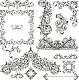 Decorative Elements - Retro Vintage Style Stock Image