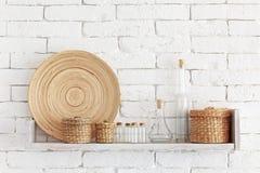 Decorative shelf Royalty Free Stock Image