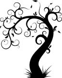 Decorative tree Stock Image