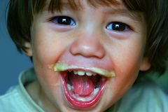 Delighted Child Stock Photography
