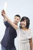 Delighted couple Royalty Free Stock Photography