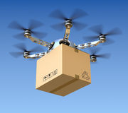 Delivery drone Royalty Free Stock Photos