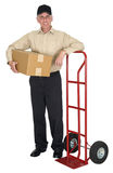 Delivery Man, Moving, Freight, Shipping, Package Stock Images