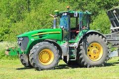 Der amerikanische Traktor John Deeres 7930 Stockfotografie