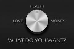 Desire management Stock Image