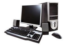 Desktop computer Royalty Free Stock Photos