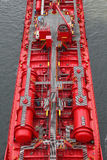 Details of a tanker Royalty Free Stock Images