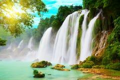 Detian waterfall Royalty Free Stock Image