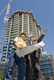 Developer and Foreman Stock Photos