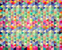 Diamant-und Dreieck-Hintergrund-Muster Stockfotografie