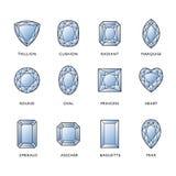 Diamond Shapes Royalty Free Stock Photo
