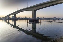 Die Itchen-Brücke Southampton Stockbild