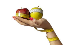 Isolated Healthy Diet Royalty Free Stock Photos