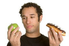 Diet Man Royalty Free Stock Photos