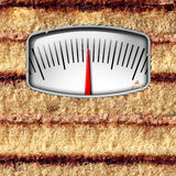 Diet Weight Scale Stock Image