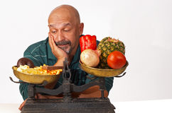 Dieting discipline Royalty Free Stock Image