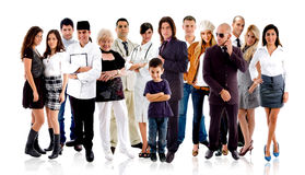 Different people Royalty Free Stock Image