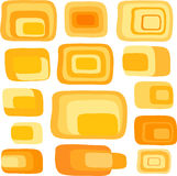 Different retro squares vector Royalty Free Stock Photos