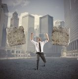 Difficult business Royalty Free Stock Photos
