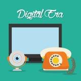 Digital-Äratechnologie Stockfotografie