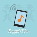 Digital-Äratechnologie Stockfotos