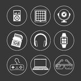 Digital-Äratechnologie Stockbilder