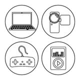 Digital-Äratechnologie Lizenzfreies Stockfoto