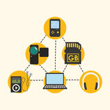 Digital-Äratechnologie Lizenzfreie Stockbilder