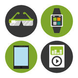 Digital-Äratechnologie Lizenzfreie Stockfotos