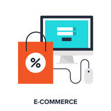 Digital commerce Royalty Free Stock Photography