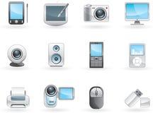 Digital electronics set Stock Image