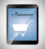 Digital marknadsföring och online-försäljningar Arkivbilder