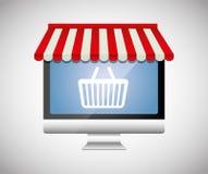 Digital marknadsföring och online-försäljningar Royaltyfria Bilder