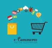 Digital marknadsföring och online-försäljningar Arkivfoton