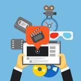 Digital media industry Stock Images