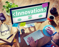 Digital Online Innovation Development Web Page Browsing Concept Stock Image