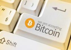 Digital-Währung Bitcoin Lizenzfreie Stockbilder