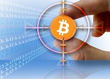 Digital-Währung Bitcoin Stockbild